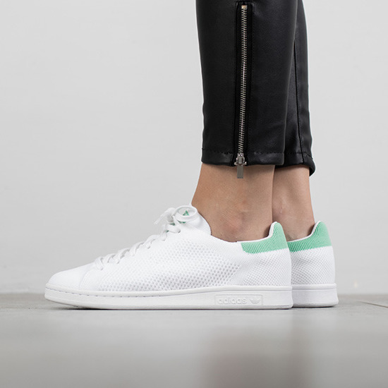 huge discount 71995 92525 Scarpe da donna sneakers adidas Stan Smith Primeknit BZ0116   bianco   da  54,50 € - SneakerStudio.it