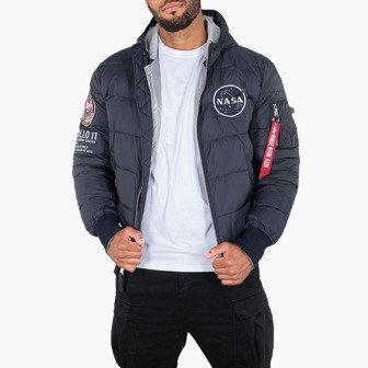 Giacca da uomo Alpha Industries Hooded Puffer Apollo 11 188142 07 25b92afe0897