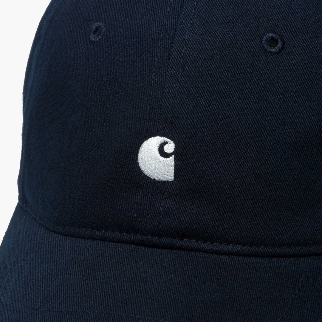 on sale a1121 53f37 Cappellino Carhartt WIP Backley I023750 Dark Navy - Prezzo ...