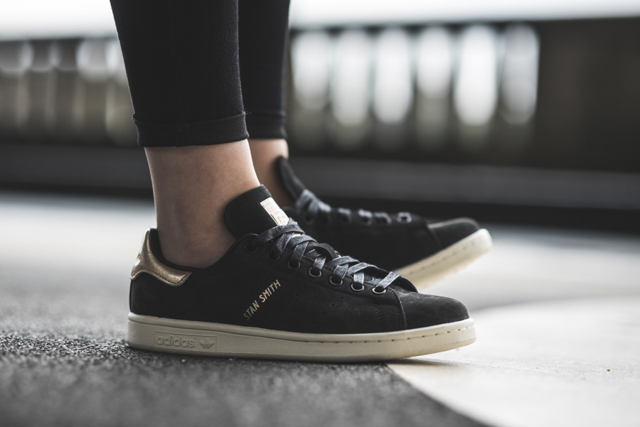 Scarpe da donna adidas Stan Smith 999 W BY9919 sneakerstudio-it neri Pelle