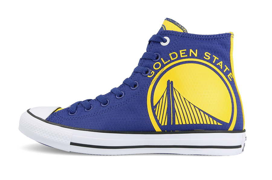 Calzature & Accessori blu per uomo Converse Chuck Taylor Golden State Warriors