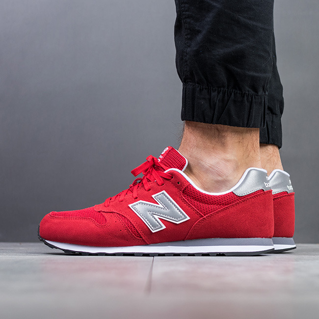 SCARPE UOMO SNEAKERS NEW BALANCE ML373RED