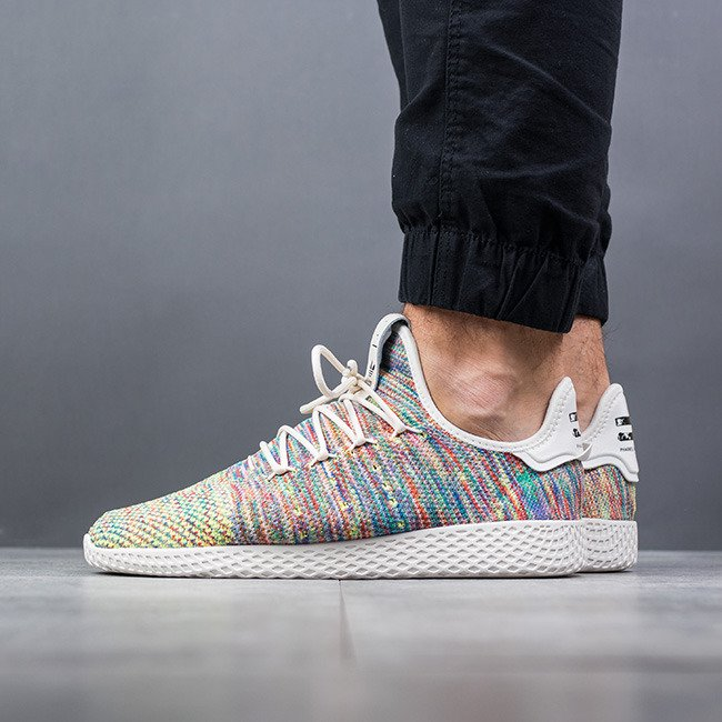 SCARPE UOMO SNEAKERS ADIDAS PHARRELL WILLIAMS HU PRIMEKNIT MULTICOLOR CQ2631