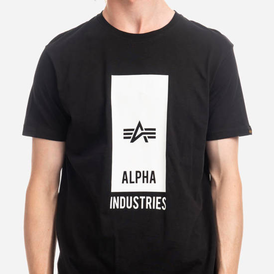 Alpha Industries Block Logo T 126547 03