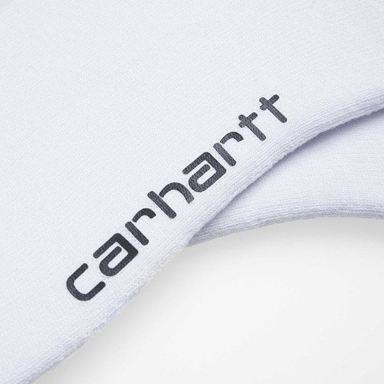 Carhartt WIP Grant Socks I026894 WHITE/SAFETY ORANGE/BOYSENBERRY