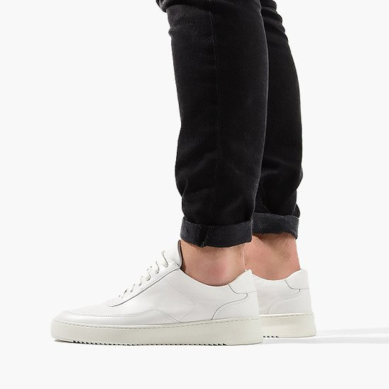 Filling Pieces Low Mondo Ripple Nardo Nappa White 24526231901PMZ