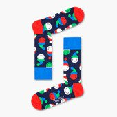 Happy Socks Snowman Cracker 1-pack Giftbox SXSCAN01 7300